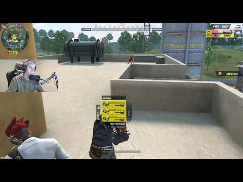 Using the New M Minigun in ROS! (Rules of Survival)