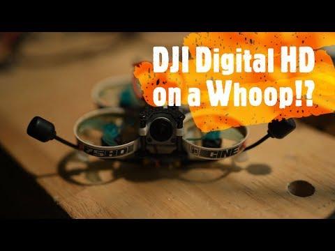DJI Digital FPV On A Whoop