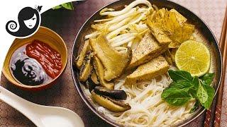 Vegan Pho Phở Chay - Vietnamese Noodle Soup