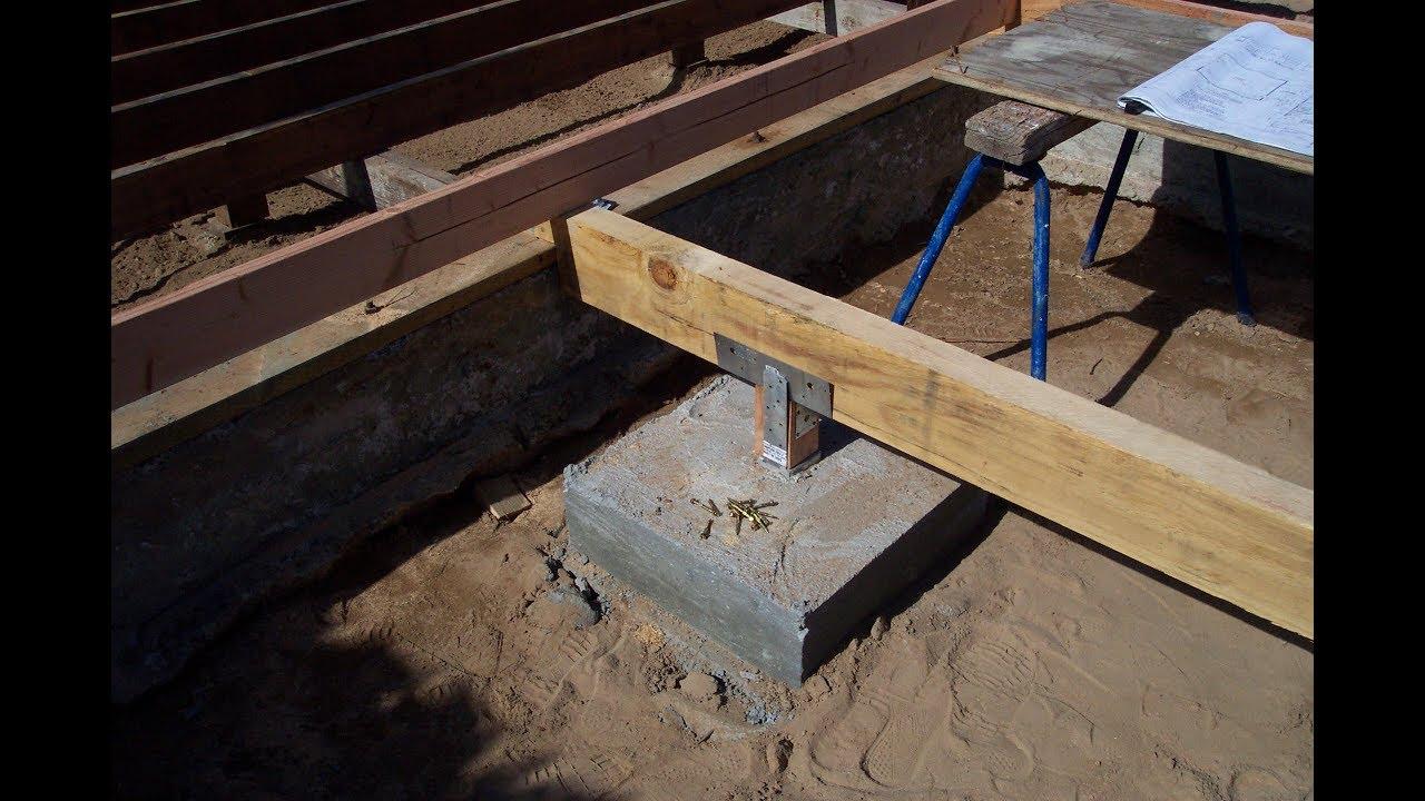 Metal Supports Wood Beams