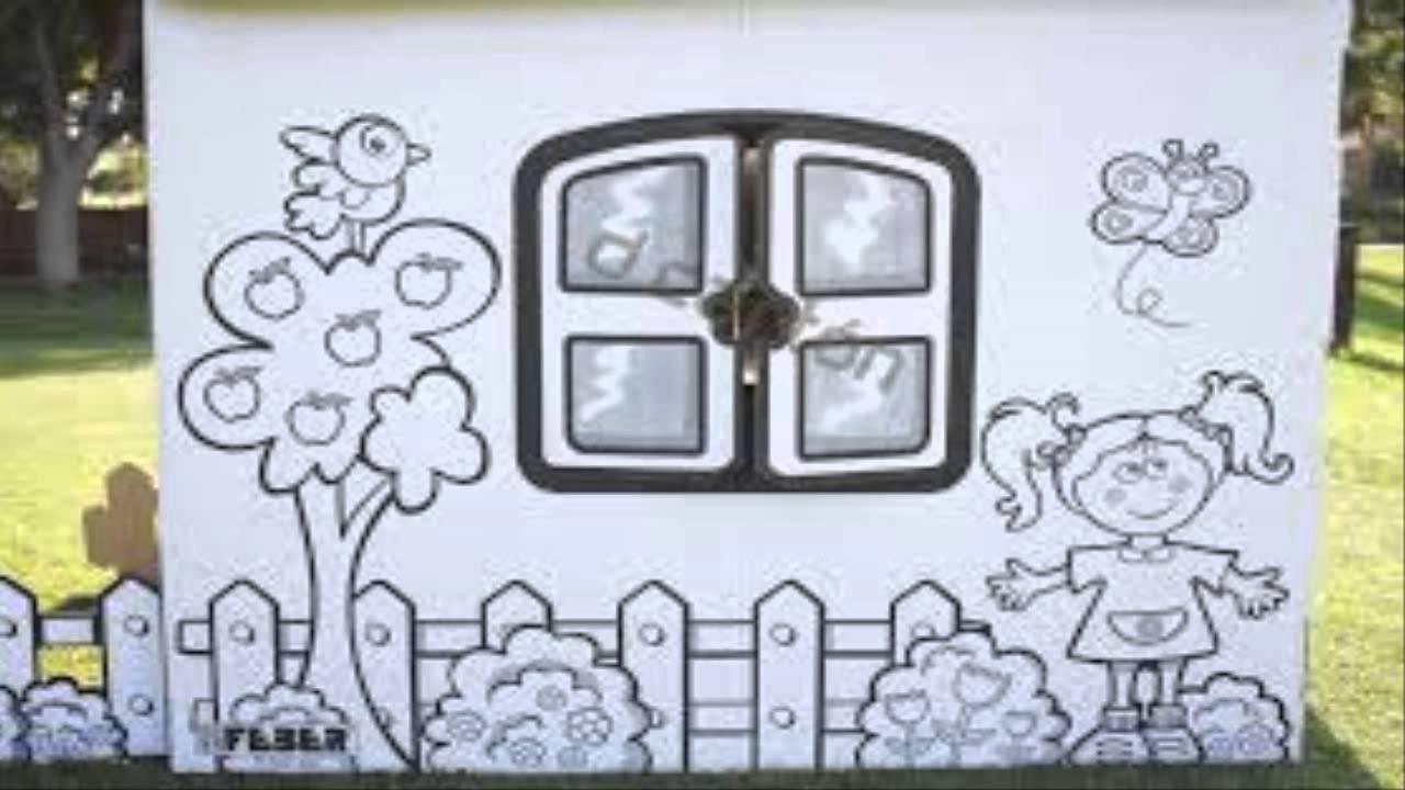Focus group de casita de carton para ni os youtube for Casitas de jardin para ninos