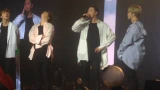 Video 170312 BTS The Wings tour in Chile - Final TALK PART 3 [FANCAM] download MP3, 3GP, MP4, WEBM, AVI, FLV Juni 2018