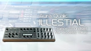 Aura Qualic Trance Soundset for Access Virus TI (FREE DOWNLOAD)