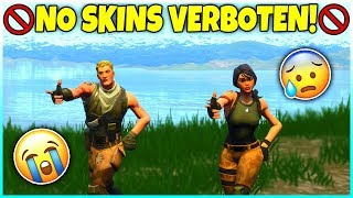 ❌ FORTNITE has NO-SKINS VERBOTEN! 😱 Play AS NO-SKIN - Fortnite Battle Royale