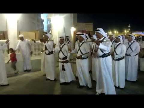 Traditional Qatari Music at Souq Waqif, Doha, Qatar