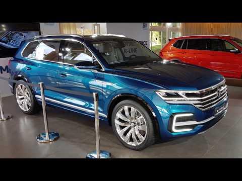 New VW Touareg 2018 R-Line Volkswagen model year 2019