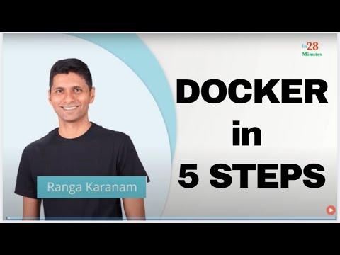 Learn Docker in 5 Steps - Tutorial For Beginners