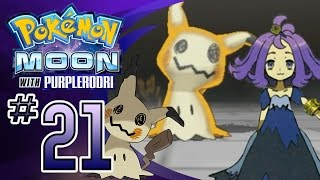 Let's Play Pokemon: Sun and Moon - Part 21 - Captain Acerola's Trial!