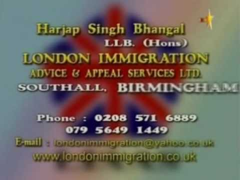 London Immigration Advert