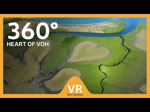 360° video: Heart of Voh - Discover the many worlds of New C