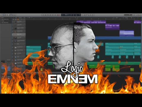 How To Make An Eminem/Logic Type Beat In Logic Pro X | Trap Beat Tutorial