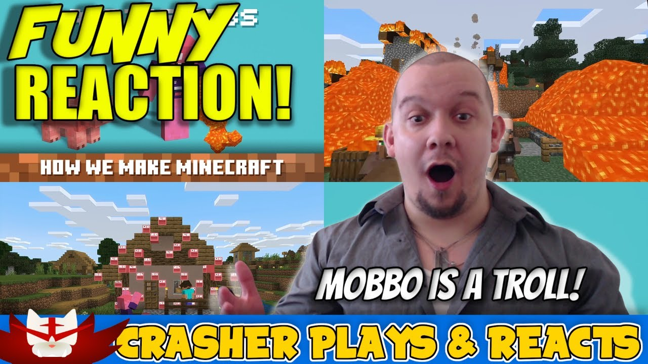 Download MOBBO = INSTANT TROLL!! Adding a New Mob: How We Make Minecraft - Episode 1 REACTION!