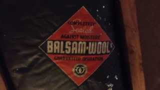 Balsam Wool Insulation - Wood Cotton