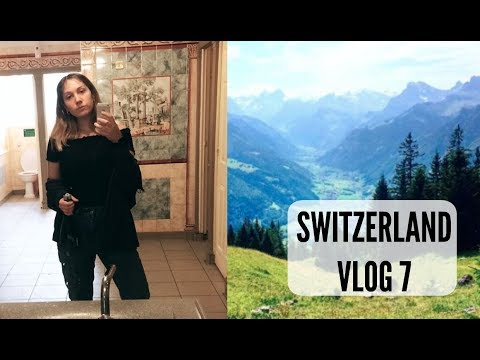 Walenstadt 1.August and London | Switzerland Travel Vlog Pt 7
