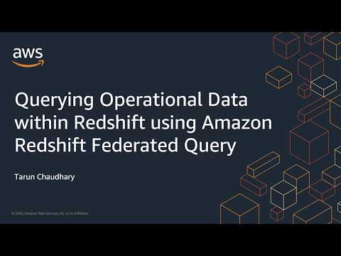 Amazon Redshift Federated Query