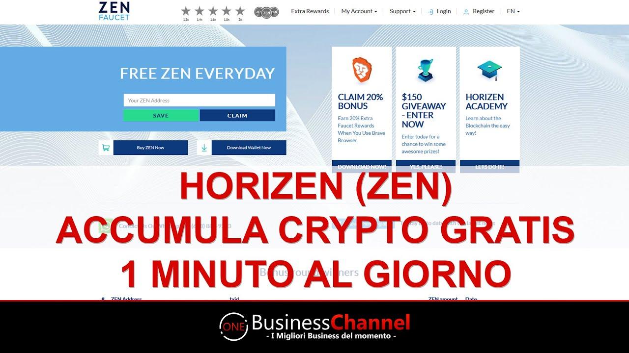 bitcoin gratuito ogni 1 minuto società di scambio crypto