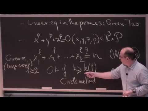 Philippe Michel, Introductory Talk On Analytic Number Theory