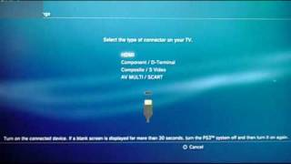 How to Optimize High Definition Settings for your PS3 - 720p/1080i/1080p?