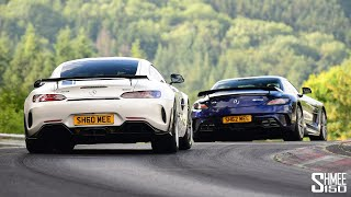 BATTLE OF MY AMGs! GT R Pro vs SLS Black Series
