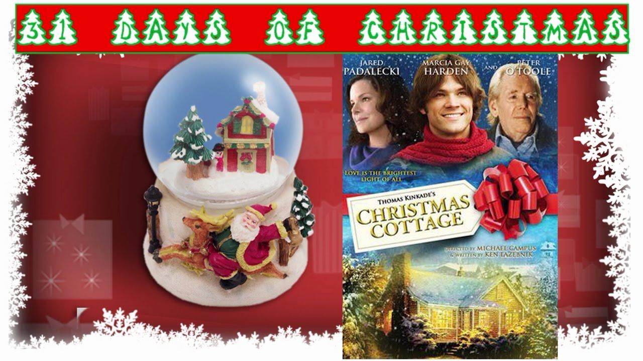 Kinkade christmas cottage - 21 Days Of Christmas Thomas Kinkade S Christmas Cottage Movie Review W Special Guest