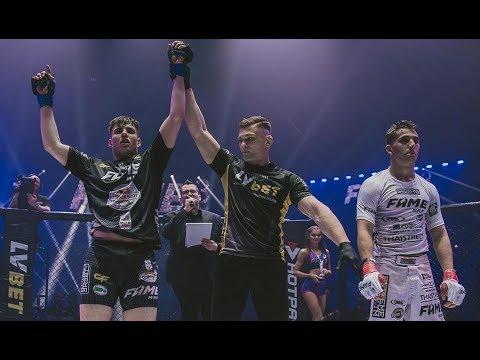 FAME MMA 3: WIEWIÓR ZDOMINOWAŁ HASSANA NA PEŁNYM DYSTANSIE! - YouTube
