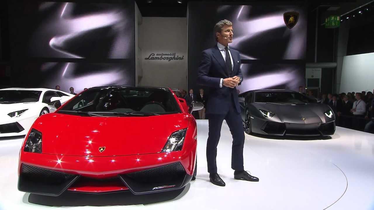 Lamborghini Super Trofeo Stradale - Frankfurt IAA 2011 Press Conference