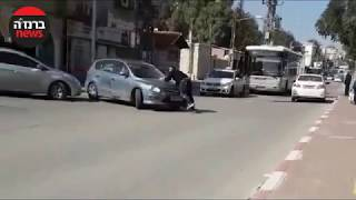 מעצר בבאר שבע / צילום מרשת חברתית / עריכה: דני בלר / ברנז'ה חדשות