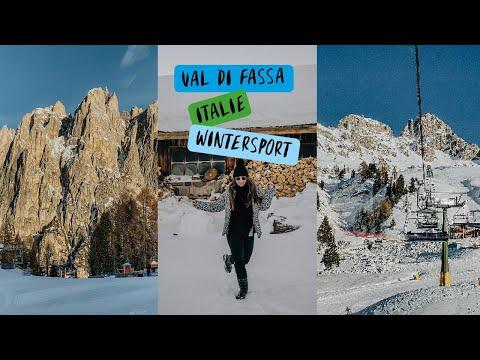 Video: Op wintersport in Val di Fassa, Italië en is mijn camera stuk?