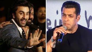 Ranbir Kapoors BEST Reply To Salmans Comment On SANJU Trailer