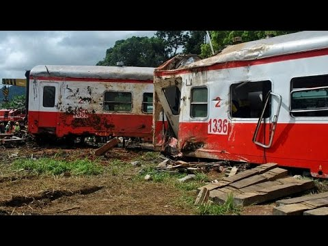 Cameroon train was travelling at ''abnormally'' high speed