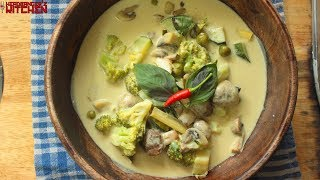 Vegan Thai Green Curry | Keto Recipes | Headbanger's Kitchen