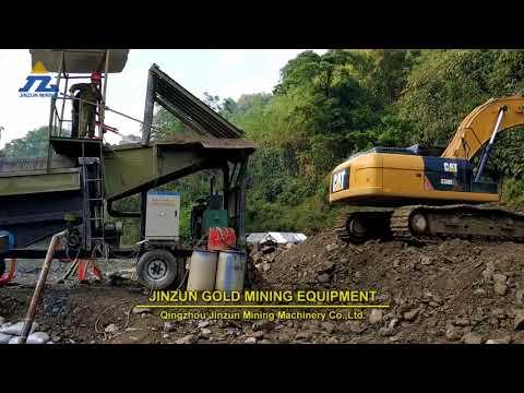 Modern Gold Trommel Wash Plant In Myanmar 2018 Year