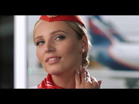 Aeroflot Russian Airlines Flight Safety Video