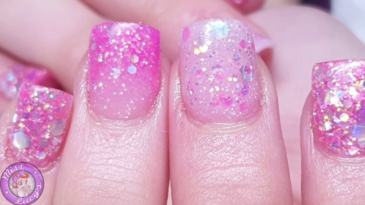 Sweet 16 Nails Acrylic The Glitter Fairy Cjp