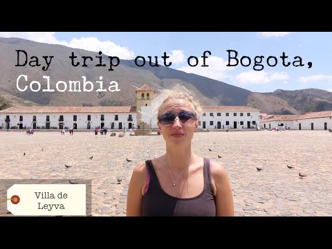 Day Trip out of Bogota - Colombia - TRAVEL VLOG - The Adventures of Pip & Tobes