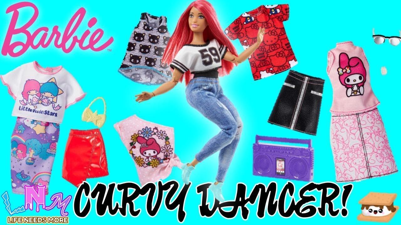 Curvy Barbie clothes tank top
