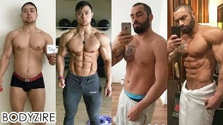Inspiring Men Fat Loss Transformation Male Fat To Muscle Fit Motivation Before And After