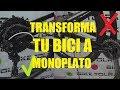 TRANSFORMA TU BICI A MONOPLATO   Compatible 1x11 - 1x12 - 1x10