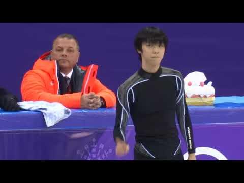 2018 Winter Olympics - 平昌五輪 - 羽生結弦 - 朝練習 - Yuzuru Hanyu Men's Short Program Morning Practice