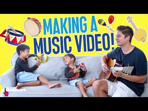 Making A Music Video! - Daddy Diaries: EP7