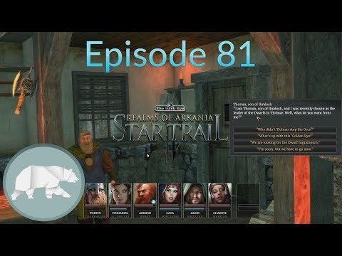 Realms Of Arkania - Star Trail - Episode 81 - The Golden Eye