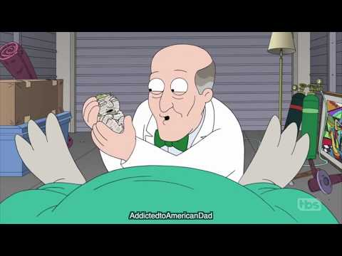 American Dad - Roger's Body