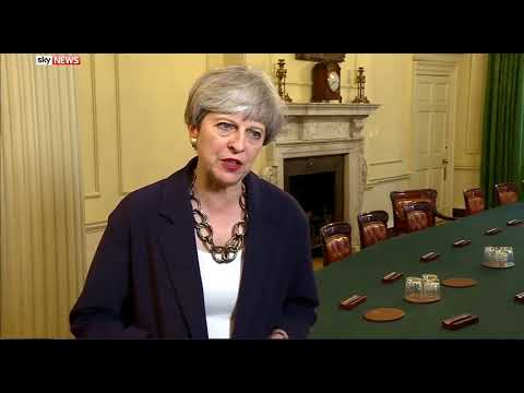 Theresa May to the tune of Enola Gay  OMD protest song  version