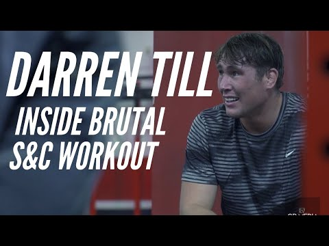 Darren Till: Inside Brutal Strength and Conditioning Session