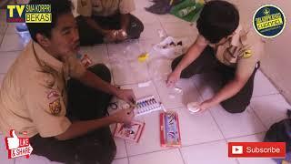 Praktek Kerajinan Clay Tepung SMA KORPRI Bekasi