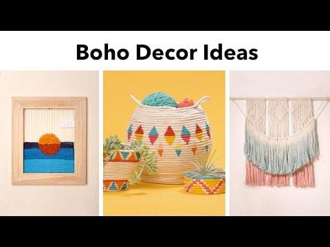 3 Boho Decor Ideas DIY thumbnail