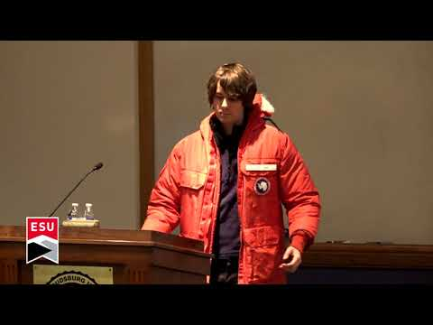 Jonathan Weber - Living and Working in Antarctica - 11/29/2017