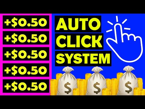Earn $.50 Unlimited Times with Auto Click System [Make Money Online]