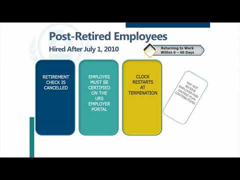 Post Retired Employees