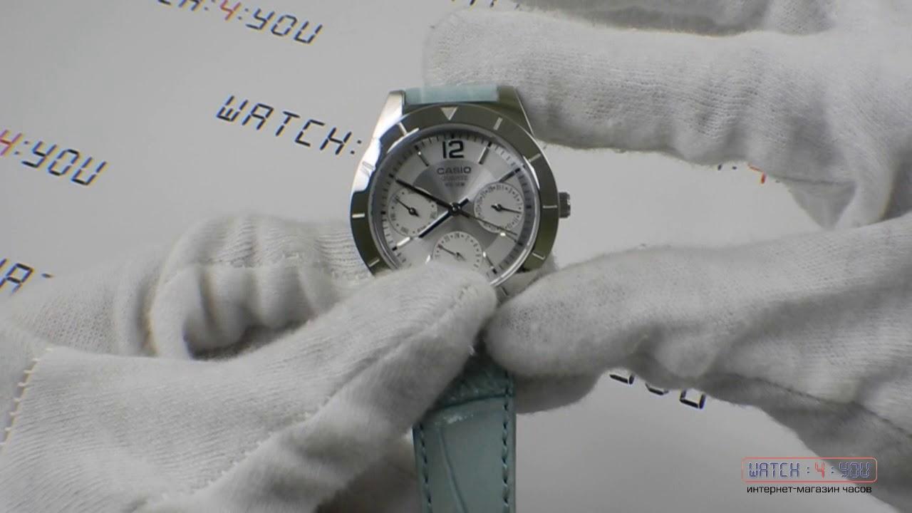 обзор женских часов Casio Ltp 2069l 7a2vef Youtube